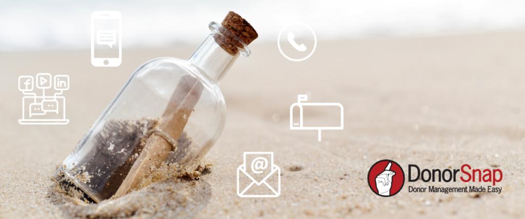 Message in bottle on beach: donor segmentation