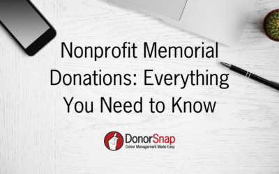 Nonprofit Memorial Donations: A Complete Guide for 2021
