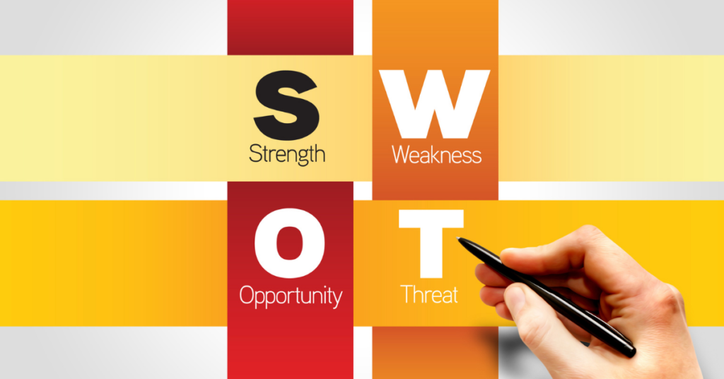 SWOT Analysis for Online Fundraising